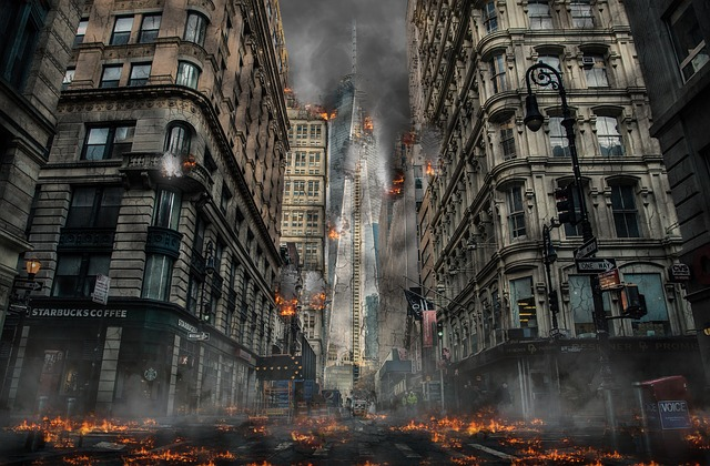 zkáza města