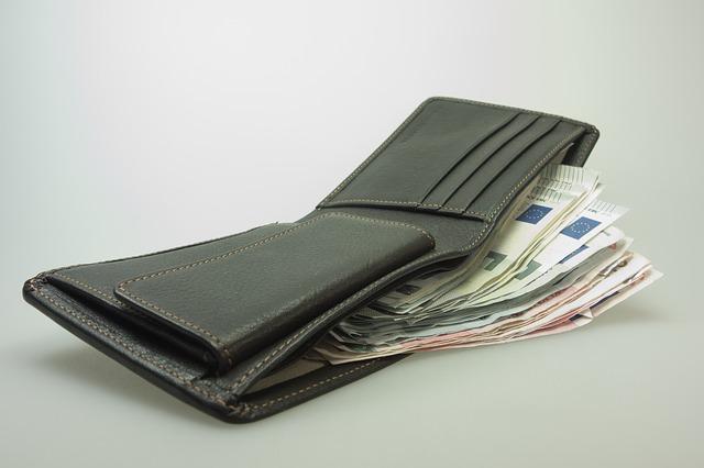 bankovky v peněžence
