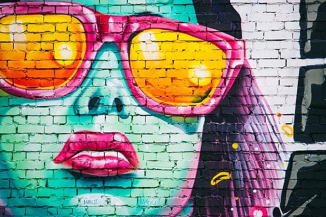 graffiti zeď