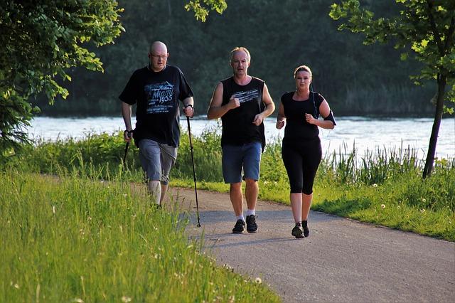 společné běhání